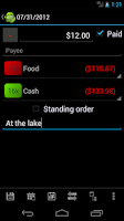 Screenshot of MoneyDroid Lite