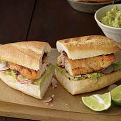 Mexican Red Snapper Sandwiches