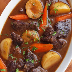 Beef Stew with Carrots & Potatoes