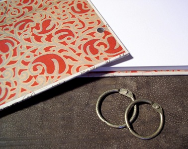 Ring bound journal