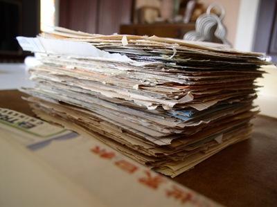 vintage paper journal