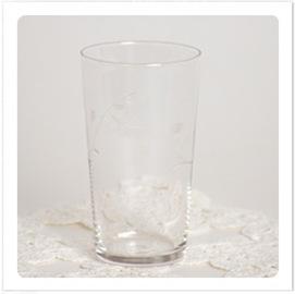 Seltzer glass
