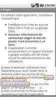 Screenshot of Suivi conso Free Mobile