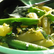 Garlic String / Green Bean Salad