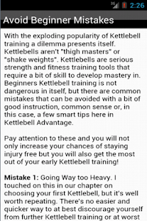 Kettlebell Training - Workout - screenshot