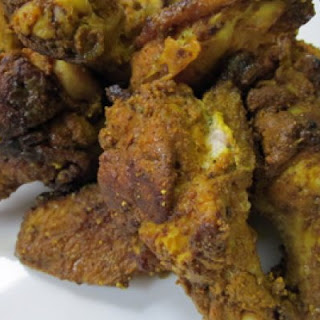 Ginger-Turmeric Wings