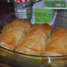 Greek Phyllo-Wrapped Chicken
