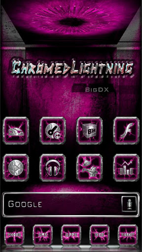 Chromed Lightning Multi Pink