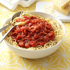 Homemade Meatless Spaghetti Sauce