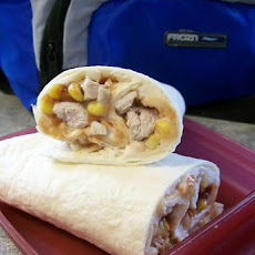 Round up Wrap Aka Leftover Wrap
