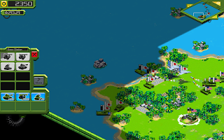Screenshot of Tropical Stormfront - RTS