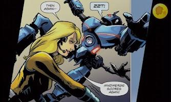 Screenshot of Team M.O.B.I.L.E Comic