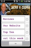 Screenshot of Jackie K Cooper Reviews