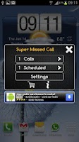 Screenshot of Super Missed Call