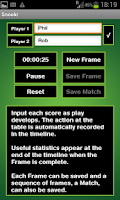 Screenshot of Snookr Score Pro