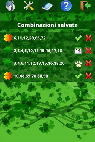numeri-fortunati-superenalotto for android screenshot