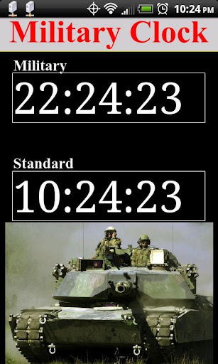 高評價推薦實用App工具Military Time Legacy!方便、快速、節省您的時間