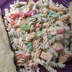 Tuna, Cheese and Pasta Salad