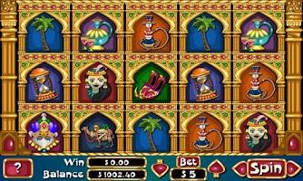Screenshot of Sultan of Slots