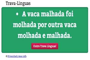 Screenshot of Trava Linguas