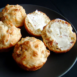 Bacon Cheddar Chive Muffins