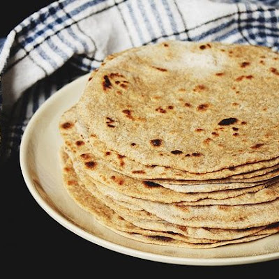 Home-Made Whole Wheat Flour Tortillas