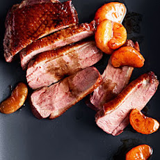 Crispy Duck Breasts with Balsamic-Glazed Tangerines