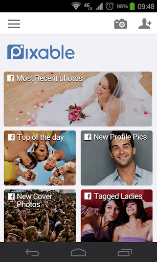 pixable-your-photo-inbox for android screenshot