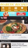 Screenshot of Diabetic Recipes