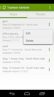 Screenshot of TripMate Adelaide