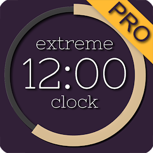 Extreme Clock Pro wallpaper