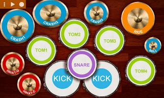 Screenshot of Real Drum Kit