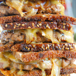 Laura's Lean Beef Patty Melts