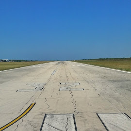 Takeoff  by Matthew Wheldon - Transportation Airplanes ( flying, plane, aircraft, runway, croatia, ryanair, zadar )