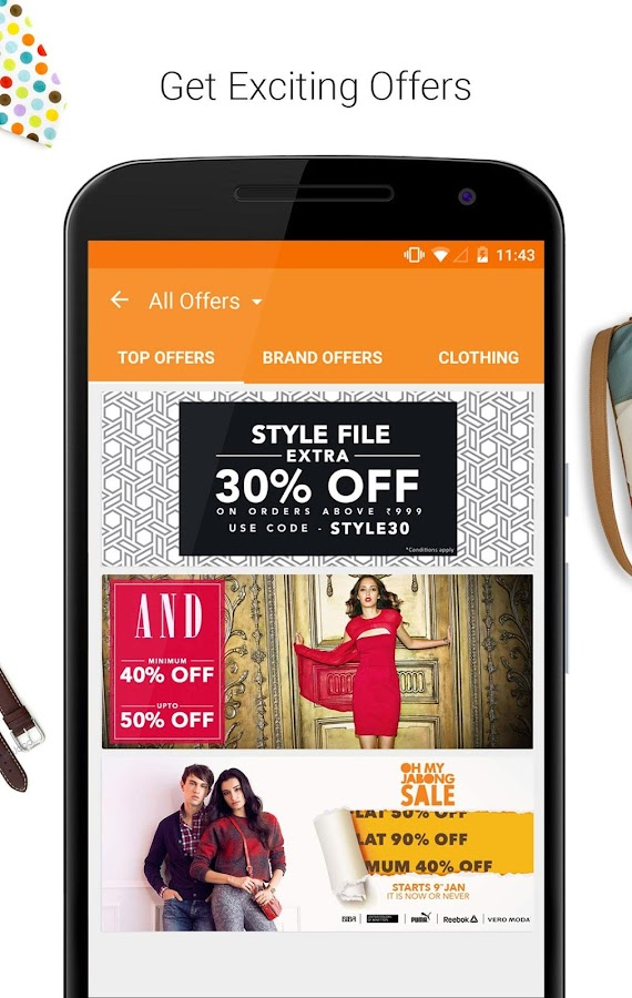 Jabong-Online Fashion Shopping Screenshot 1