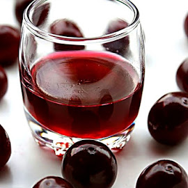 Cherry liqueur  by Alka Smile - Food & Drink Alcohol & Drinks