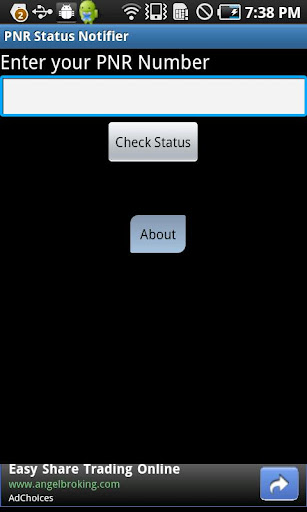 PNR Status Notifier