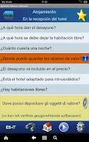 Screenshot of Aprende Italiano  hablando