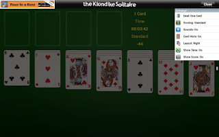 Screenshot of The Klondike Solitaire