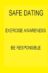 Safe Dating For Teenagers - screenshot