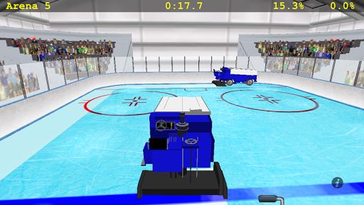 Zamboni Challenge - screenshot