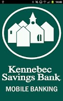 Screenshot of Kennebec Savings Bank Mobile