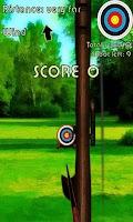 Screenshot of Archer bow shooting