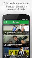 Screenshot of Betis App