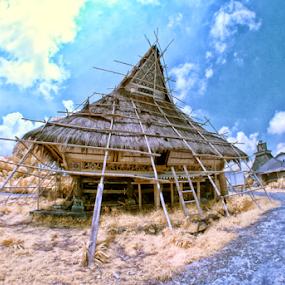 Rumah Adat Karo -  Sumatera Utara by Aditya Pramana - Buildings & Architecture Public & Historical