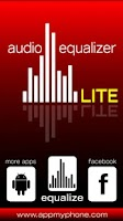 Screenshot of Audio Equalizer Lite