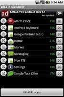 Screenshot of Simple Task Killer