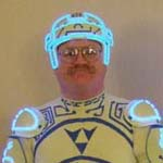 A thumbnail image of the Tron Guy that links to a larger version