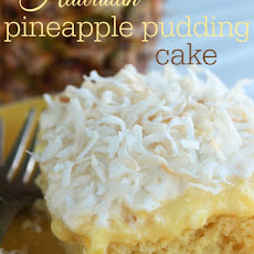 Hawaiian Pineapple Pudding Cake