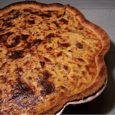 Caramelized Onion & Mustard Tart